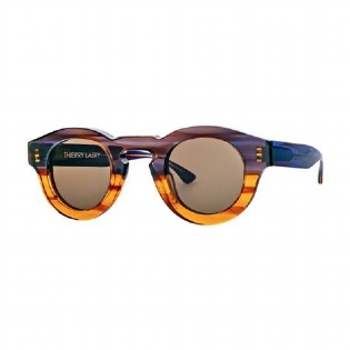THIERRY LASRY RUMBLY 007 BLUE & YELLOW GRADIENT UNICO
