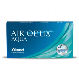 Lentes De Contato Alcon Air Optix Aqua