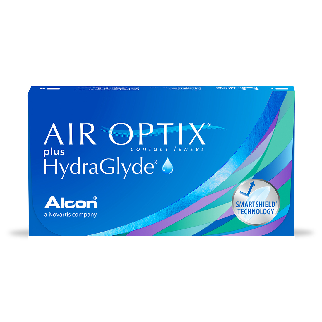 Lentes De Contato Alcon Air Optix Plus Hydraglyde