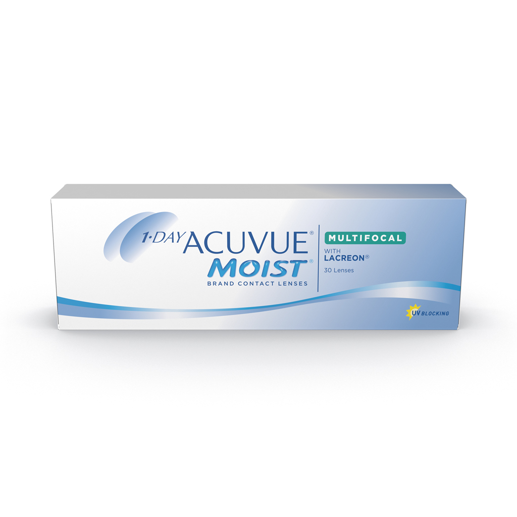 Lentes De Contato Johnson & Johnson Acuvue 1 Day Moist Multifocal